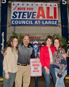 Steve Ali and family