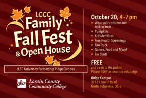 Come One, Come All to the LCCC Ridge Campus Fall Fest!